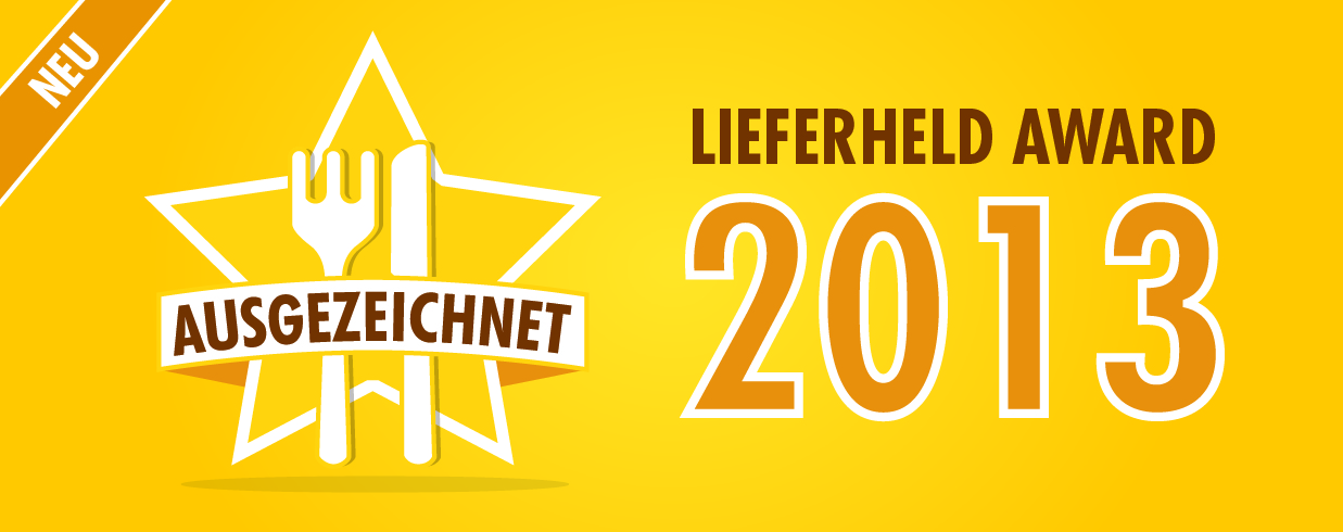 Lieferheld Award 2013